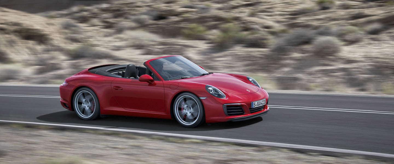 De nieuwe Porsche 911 Carrera