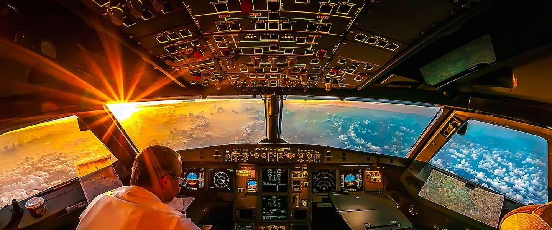 10 schitterende foto's vanuit de cockpit
