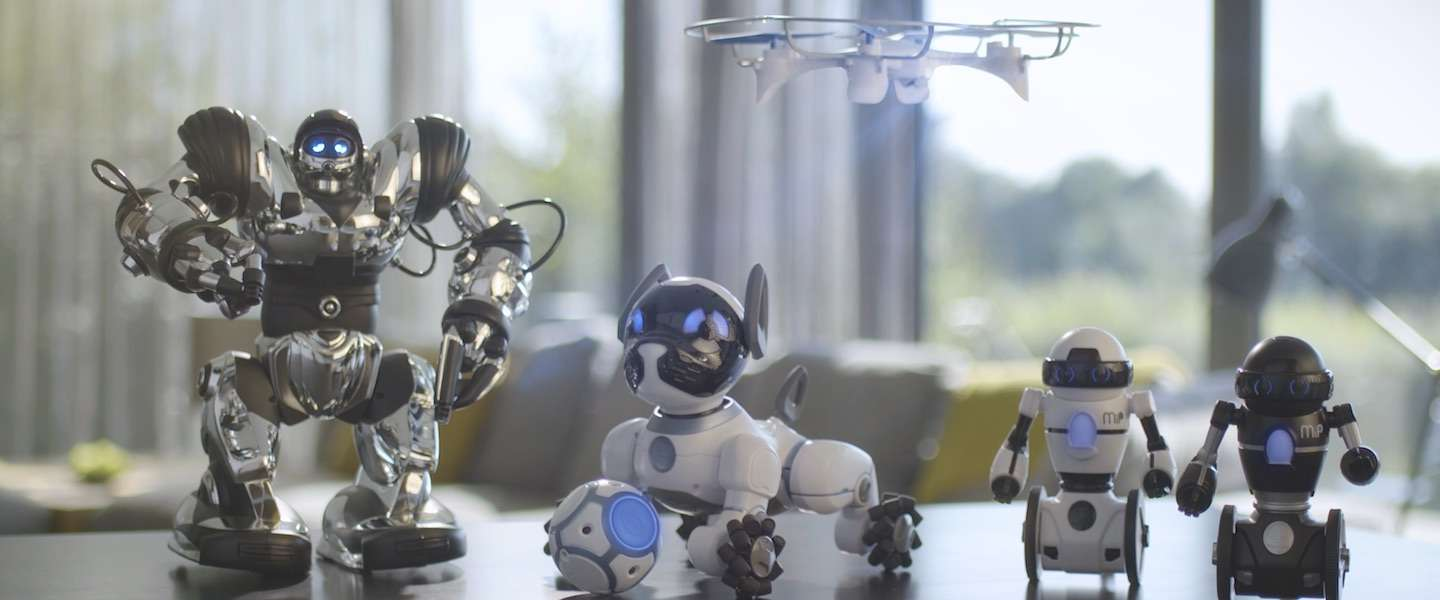 3 coole robot must haves van WowWee