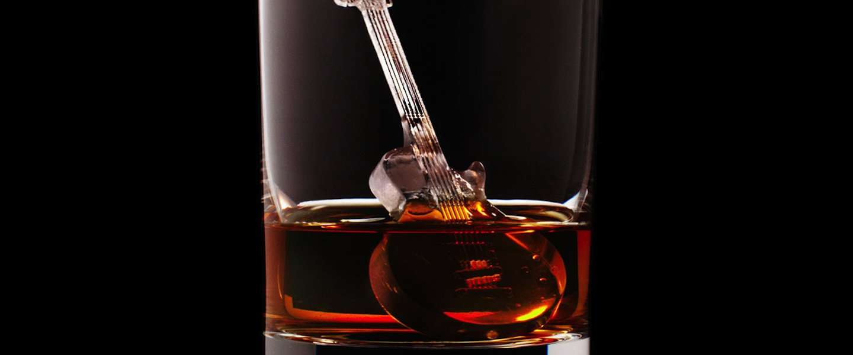 3D geprinte ijsblokjes laten je whisky drinken in stijl