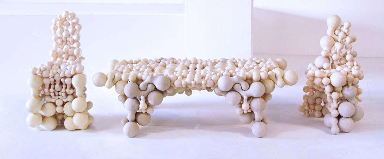 Check deze prachtige en kunstzinnige 3D geprinte meubels