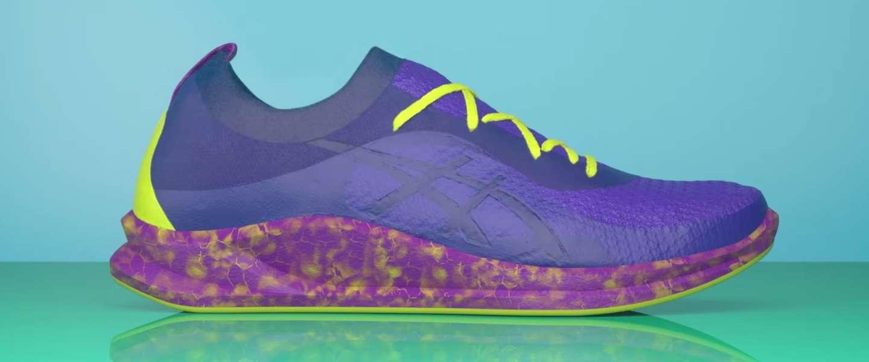 Asics gaat custom sneakers met de magnetron 'bakken'