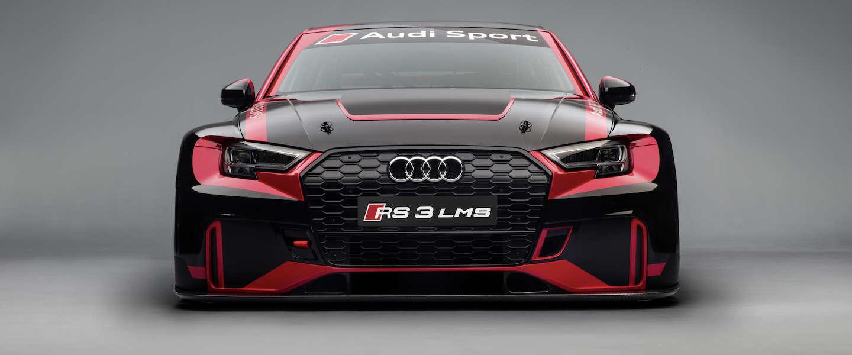 Het nieuwe racemonster van Audi: RS 3 LMS