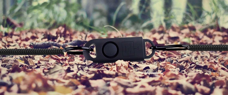 Draagbare eAlarm+ houdt jou en je woning veilig met 130 decibel