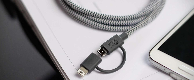 Belt Twin Head: met één kabel al je apparaten opladen