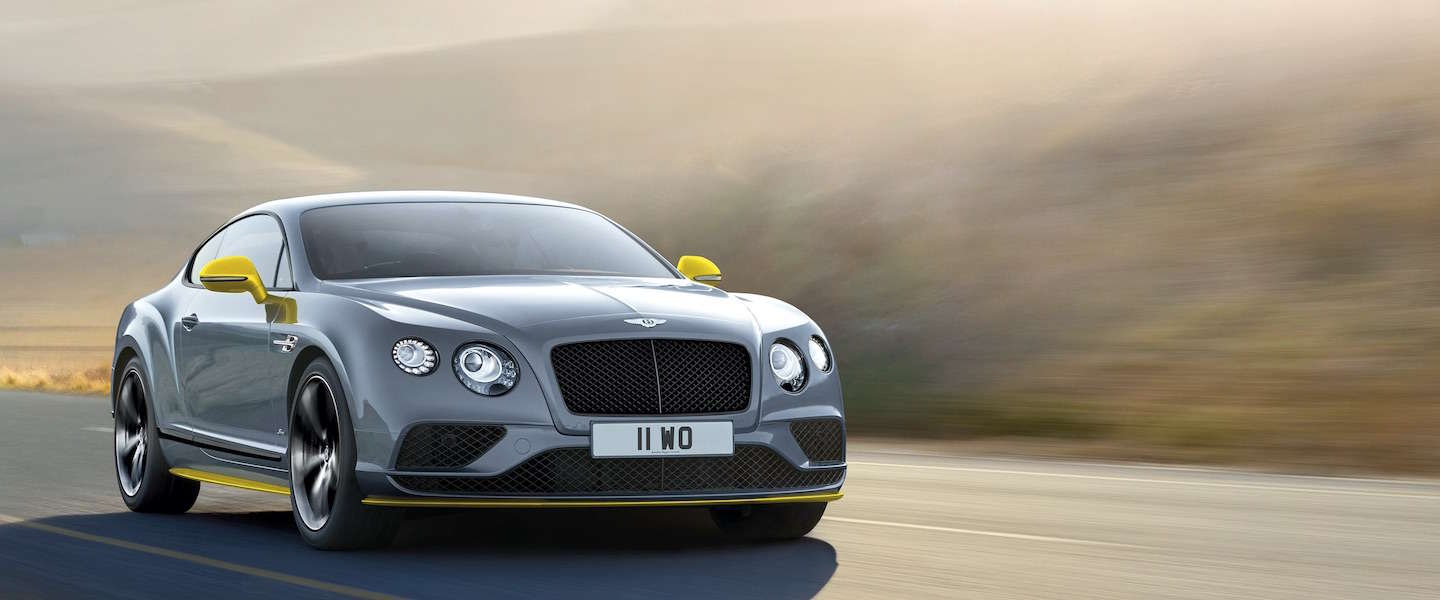 Bentley Continental GT Speed, 6.0 liter met 642 PK