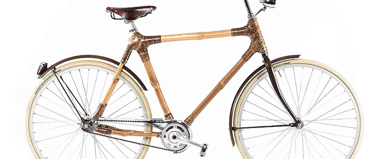 Fietsen op bamboe dankzij de Black Star bike uit Ghana