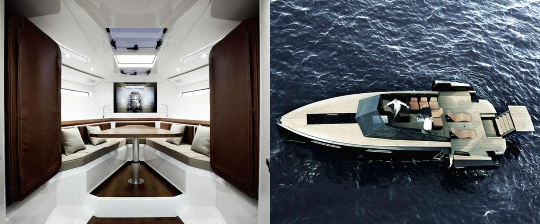 Super de luxe jacht: blue martin evo 43 speedboot