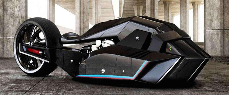 Futuristische motor: BMW Titan Concept Motorcycle