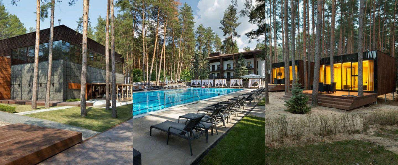 In dit complex in het bos van Oekraïne kom je volledig tot rust