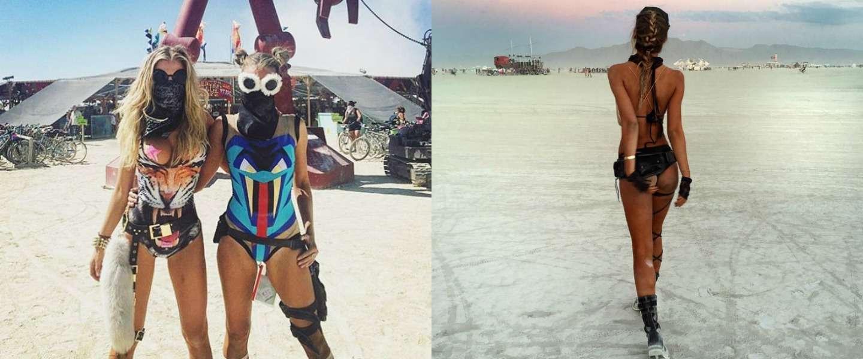 De fijnste #burnergirls op Burning Man 2016