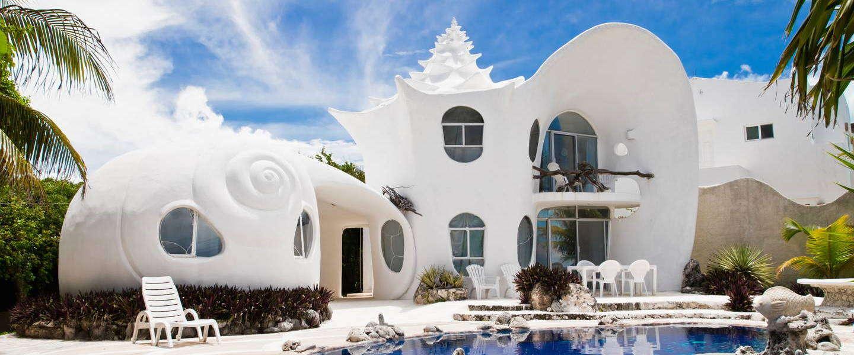 Casa Caracol: luxe huis geïnspireerd op de zee