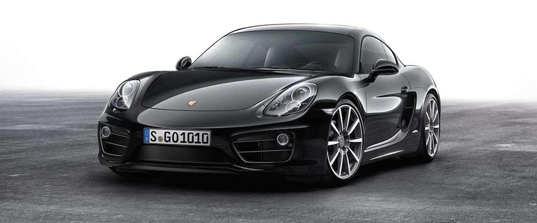 Compleet zwart: Porsche Cayman Black Edition