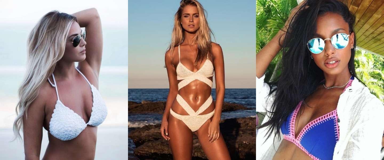 16 fijne dames in bikini