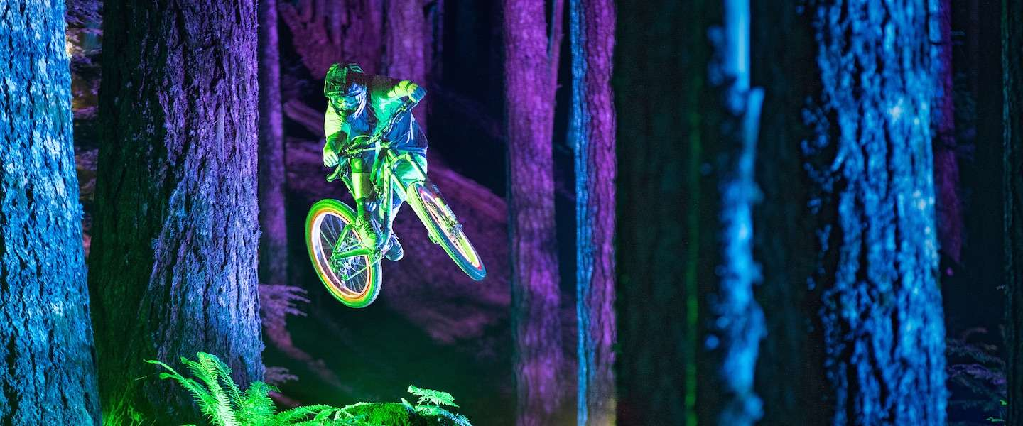 Mountainbikers in spectaculaire Philips-video