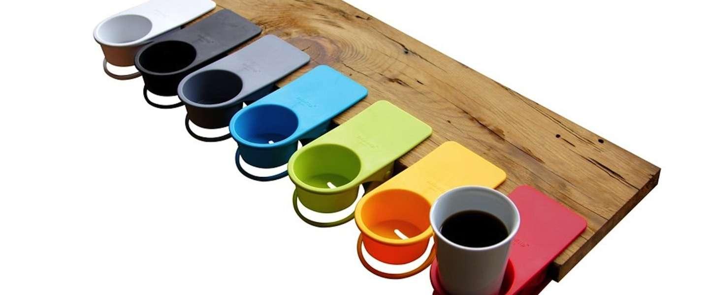 Zet je kopje koffie stevig vast in de DrinKlip