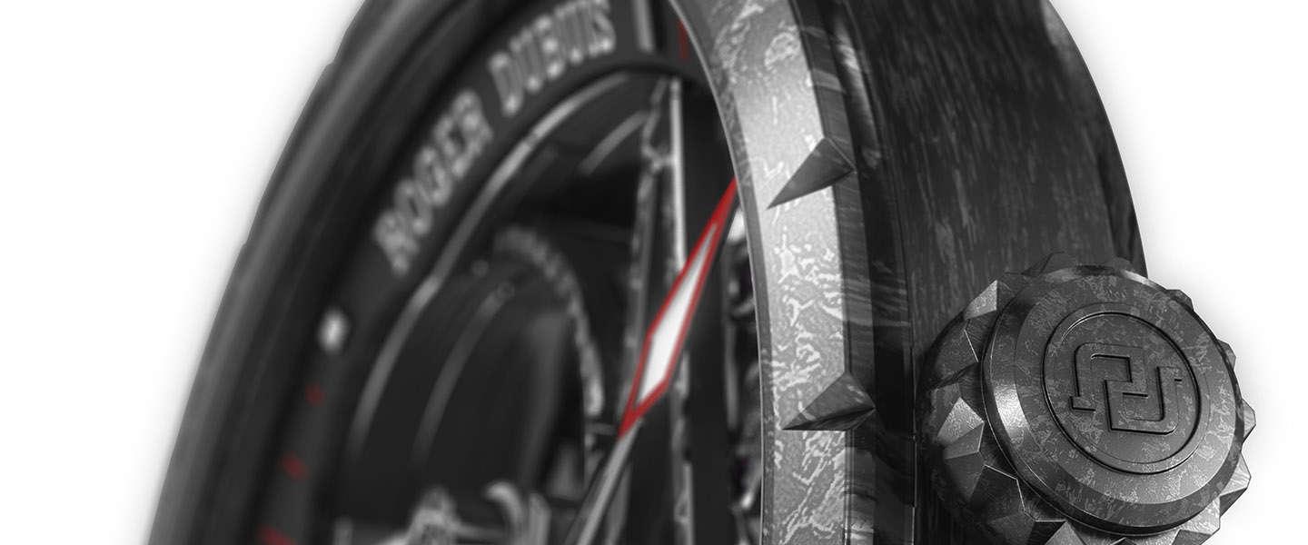 Roger Dubuis presenteert de Excalibur Automatic Skeleton Carbon