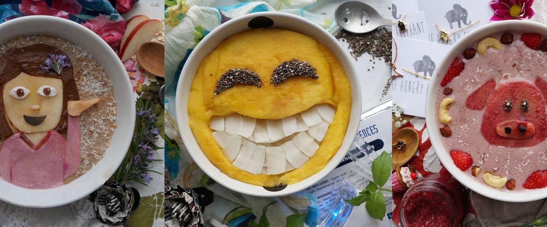 Deze foodblogger maakt emoji's van haar ontbijtjes