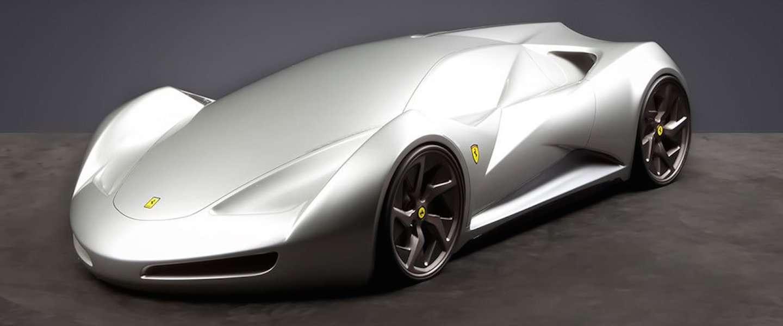 Zo zien Ferrari's eruit in het jaar 2040!