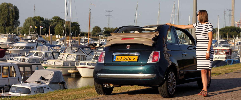 Touren in de zomer met de Fiat 500 Cabrio