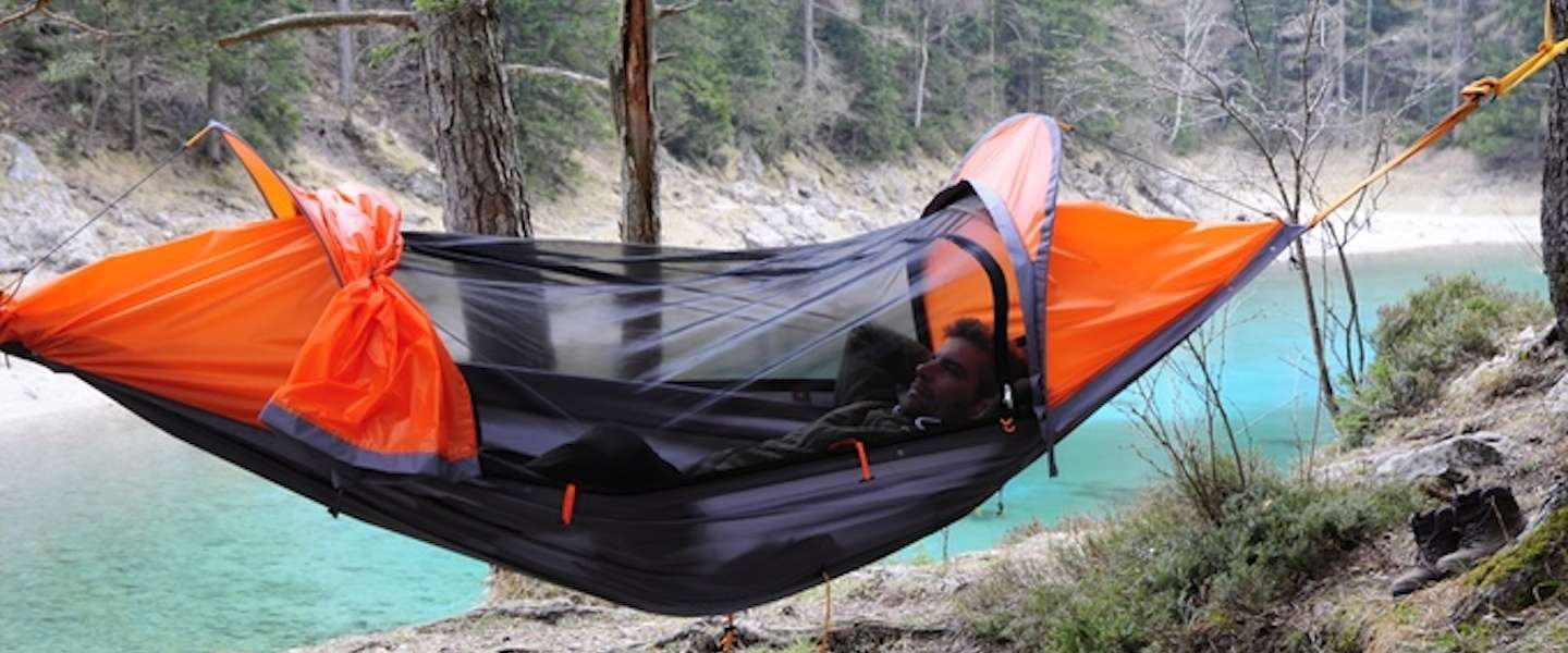 Next level backpacken met de flying tent