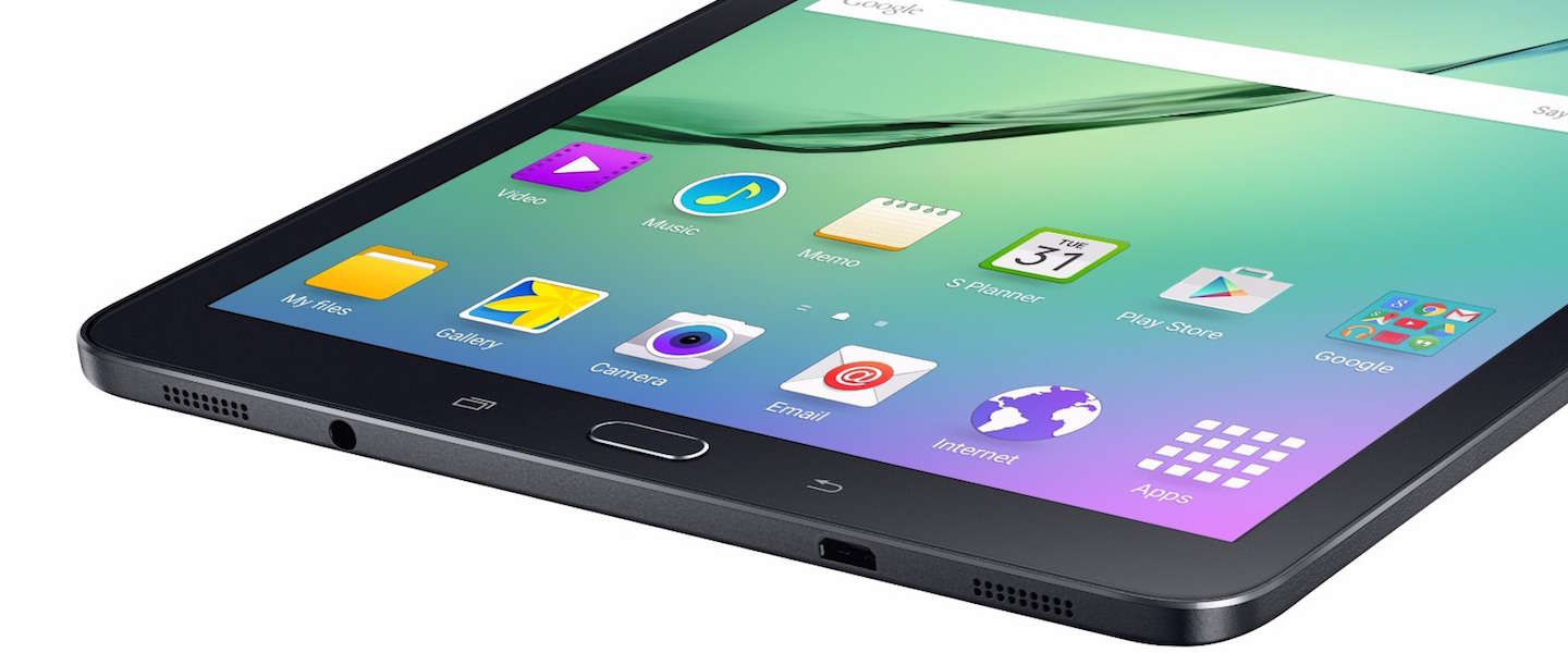 Samsung onthult Galaxy Tab S2