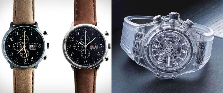 5 mooie en stijlvolle horloges voor mannen