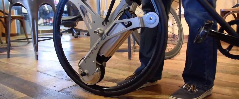 Verander je fiets met een GeoOrbital wheel in 60 seconden in een e-bike