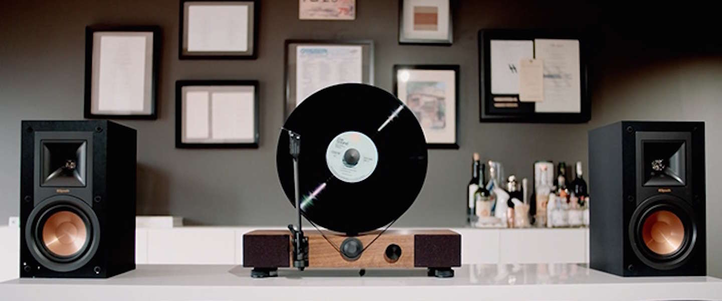 Gaaf ding: Gramovox Floating Record