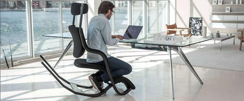 De Gravity Balans stoel is een klassieker die nog steeds alles kan