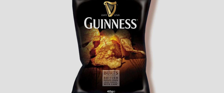 Deze chips smaakt naar Guinness!