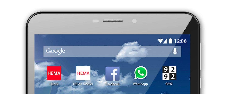 HEMA start vandaag met de verkoop van eigen merk smartphones en tablets