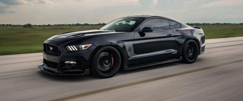 Geweldige auto: de Hennessey HPE800 Ford Mustang