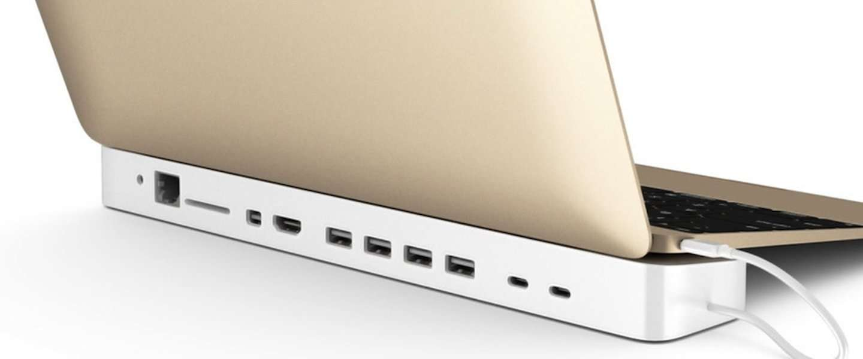 HydraDock brengt alle ingangen terug die bij de nieuwe MacBook weggelaten werden!