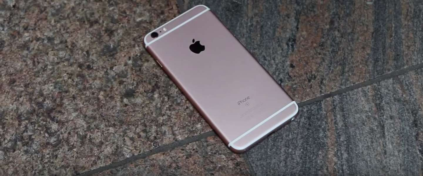 De eerste drop test met de iPhone 6S en 6S Plus