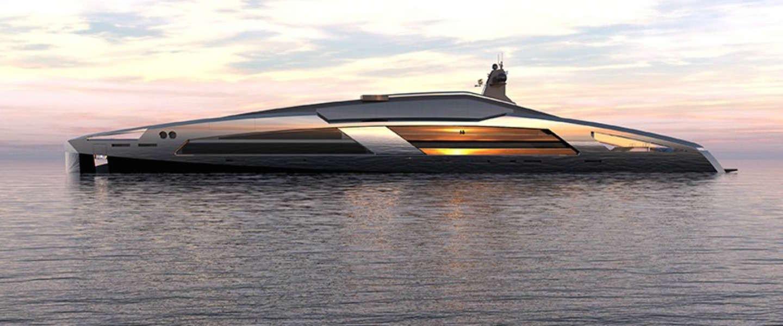 Aqueous 120: bizar mooi en luxe jacht van glas