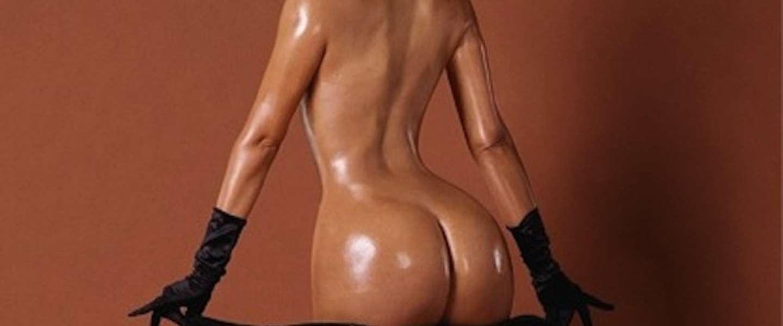 Kim Kardashian toont haar welgevormde socialite aan de hele wereld!