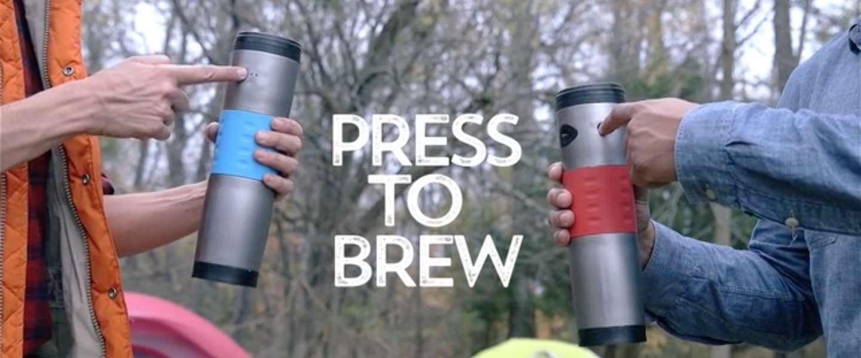 Koffiemok to go: met Mojoe maak je koffie voor onderweg!