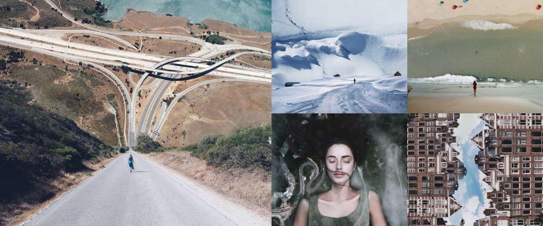 11 foto's van surrealistische landschappen