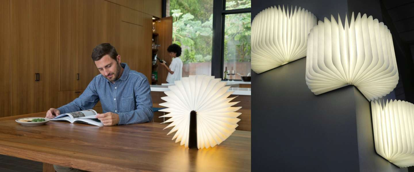 Gave lamp: Lumio boekenlamp