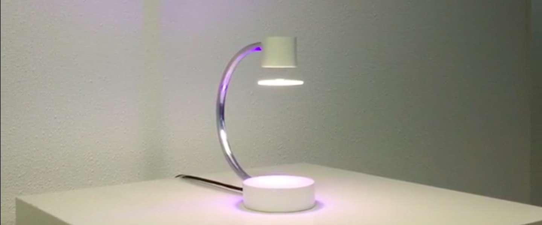 De LunaLuxx: een zwevende lamp van Nederlandse bodem
