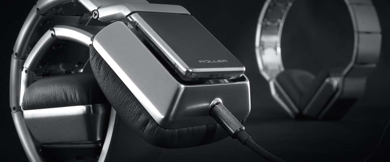 Deze exclusieve Roller MK01 koptelefoon kun je oprollen