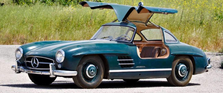 Mecerdes-Benz 300 SL Gullwing: prachtig stuk historie te koop