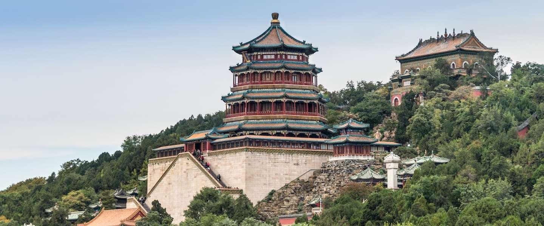 Nieuwe attractie in Peking: giga glazen platform