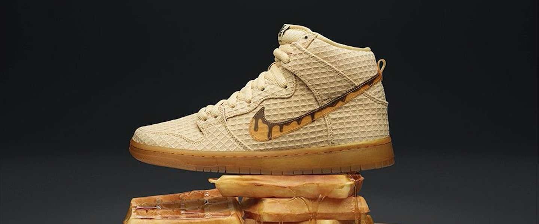 'Chicken and waffle' en Nike maakt er een nieuwe schoen van