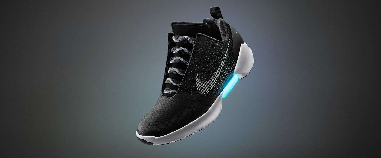 Deze zelfstrikkende HyperAdapt 1.0 van Nike kun jij ook kopen!