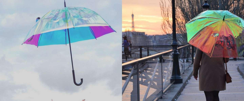 Oombrella: deze paraplu vertelt je wanneer het gaat regenen