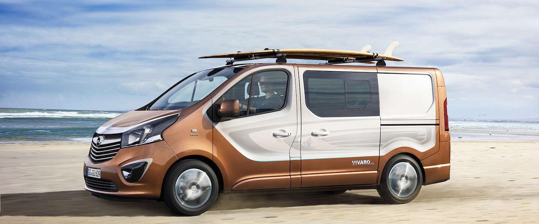 De nieuwe Opel Vivaro Surf Concept