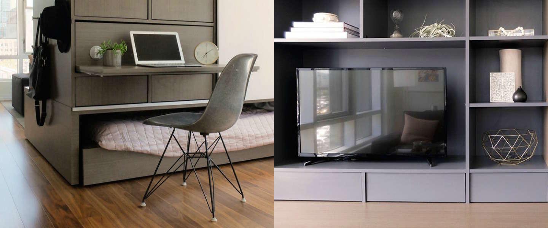 Verander de indeling van je kamer met robotmeubels van ori - Kamer indeling ...