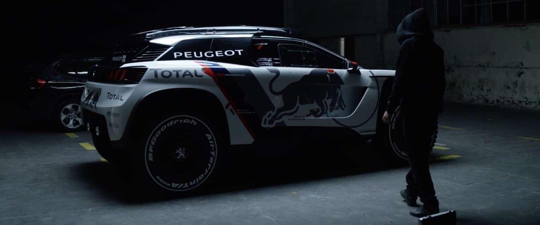 Peugeot 3008 DKR ontworpen voor stoere berijders